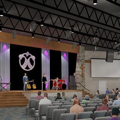Proposed Worship Space